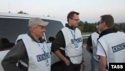 Группа экспертов ОБСЕ, направленных в Донецкую область