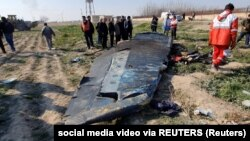 Обломок самолета МАУ