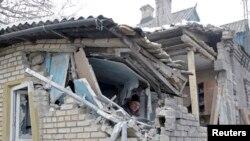 Обстрелы в Донецкой области 18-19 января 2015 года