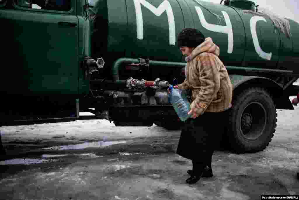 Доставка воды в Дебальцево