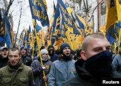 Марш ультраправых сил, Киев, 21 ноября 2016