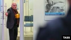 Арам Петросян при захвате банка 24 сентября 2016 года в Москве