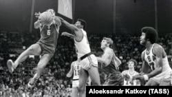 Победный мяч в финале Олимпиады-72 в Мюнхене