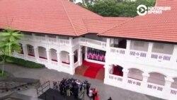 Дональд Трамп и Ким Чен Ын: встреча в Сингапуре