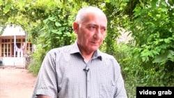 Фарамаз Джалилов, директор азербайджанской средней школы в селе Гета