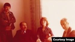 Андрей Тарковский, Тонино и Лора Гуэрра, Микеланджело Антониони. Фото из личных архивов