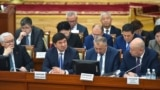 Kyrgyzstan - Prime Minister Mukhammed Abylgaziev in Parliament, which is considering the report of the government for 2018. April 24, 2019