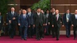 """Путин, Лукашенко и другие на саммите """"Один пояс – один путь"""""""
