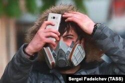 Москва во время режима самоизоляции весной 2020 года. Фото: ТАСС