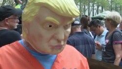 Нью-Йорк встретил Трампа акцией протеста