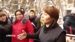 Полиция в Казахстане начала задерживать участниц протеста многодетных матерей