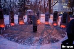 Акция памяти жертв Холокоста в Минске. 26 января 2017 года