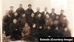 Депортированные в Казахстан корейцы, 1940 (фото из музея АЛЖИР, Казахстан)