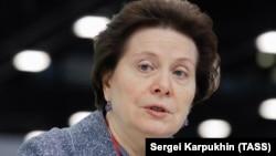 Губренатор ХМАО Наталья Комарова