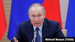 Владимир Путин на встрече с рабочей группай по подготовке поправок к Конституции РФ. 13 февраля 2020 года