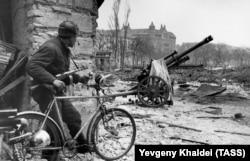 Будапешт в феврале 1945 года, когда Валленберга там уже не было