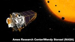 Иллюстрация звездной системы от космического агентства NASA