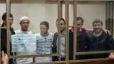 "RUSSIA, ROSTOV-ON-DON – persons involved in the Yalta ""Hizb ut-Tahrir case"" in court on sentencing, 12Nov2019"
