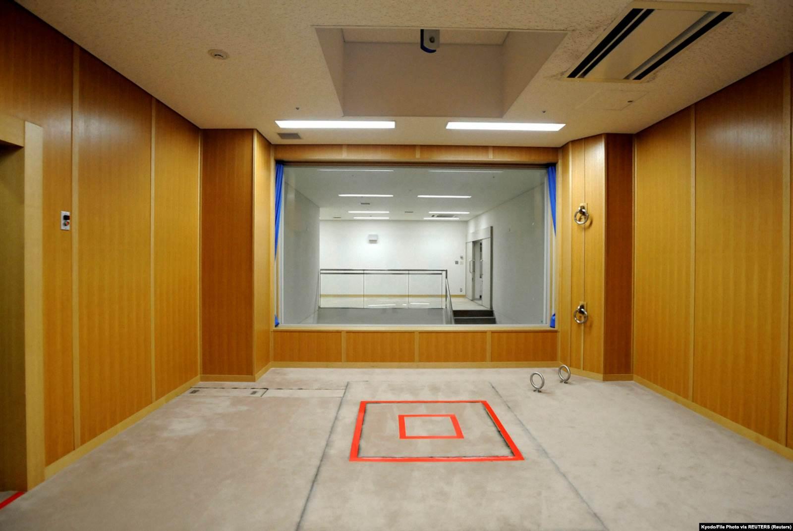 Комната для исполнения смертных приговоров в Центре для заключенных в Токио, Япония. Август 2010 года. Фото: Kyodo via Reuters