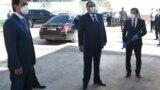 Tajikistan -- Tajik President Emomali Rahmon (M)
