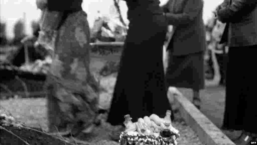 Мемориальное кладбище «Город ангелов», Беслан, Северная Осетия. Джеймс Хилл