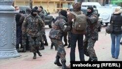 Задержания на акции в поддержку блогера Сергея Тихановского, 7 мая 2020 года, Гомель, Беларусь