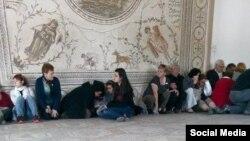 Захваченные заложники в Музее Бардо в Тунисе 18 марта