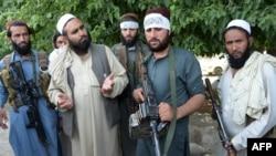 Талибы в окрестностях Джалалабада