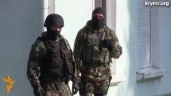Обыск в Меджлисе крымских татар в Симферополе
