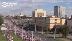"""""""Марш героев"""" в Беларуси. Как это было"""
