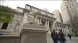В Нью-Йорке отреставрировали знаменитых львов на входе в Публичную библиотеку