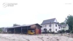 Запад Украины затопило: кадры наводнения