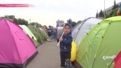 В Кишиневе продолжаются многотысячные акции протеста