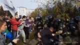 Russian Police Crack Down On Three-Month-Long Protest In Far East GRAB 1