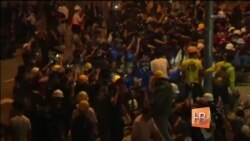 Более 40 человек задержаны в Гонконге после столкновений с полицией