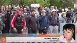 Антивоенная акция в Красноярске