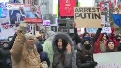 В США прошли акции в поддержку Навального