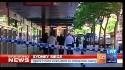 Неизвестный мужчина взял в заложники посетителей кафе в Сиднее