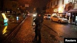 Взрыв в полицейском участке в Стамбуле. 6 января 2015