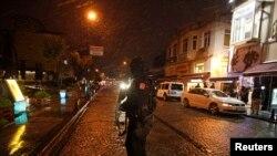 Взрыв в полицейском участке в Стамбуле 6 января