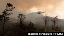 Пожар на Байкале