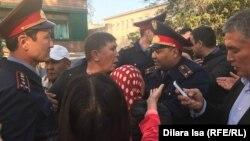 Протесты в Шымкенте