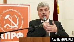 Павел Грудинин, занявший второе место на выборах президента РФ 18 марта