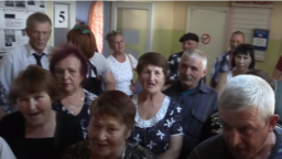 Saratov -- residents of the village of pidlisne -- 26Sep2018