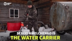 Drop In The Bucket: Russian Water Carrier Quenches Villagers' Thirst