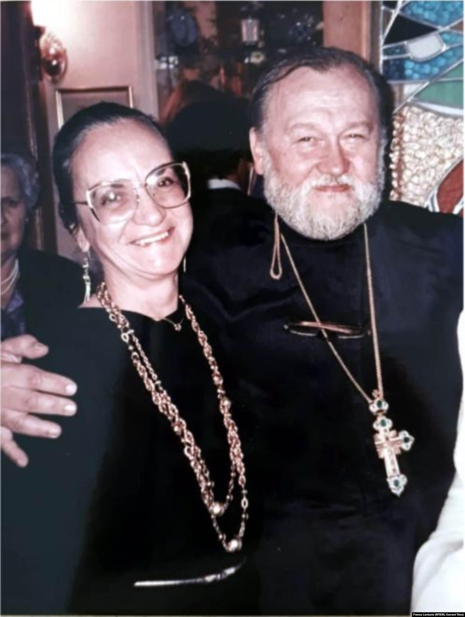 Отец Валентин Ивашевич и матушка Марфа. Фото: личный архив Александра Ивашевича