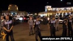 Протесты в Ереване против роста тарифов на электроэнергию 1 сентября 2015 года