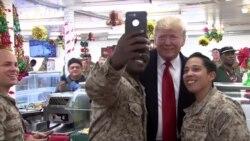 Зачем Трамп неожиданно посетил американскую военную базу в Ираке