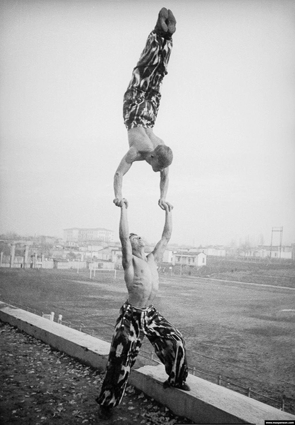 Акробатический трюк