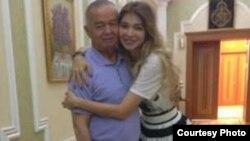 Президент Узбекистана Ислам Каримов с дочерью Гульнарой